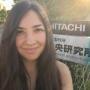 Katia Boutou (GR) trainee at Hitachi, VJ2014-15